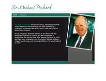 Tablet Preview of michaelpickard.co.uk